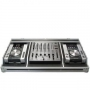 FLYGHTCASE 2 x Pioneer CD-Player CDJ-400-200-350