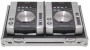 FLYGHTCASE  CDJ X 2 Pioneer cd player CDJ-200-400 O SIMILI